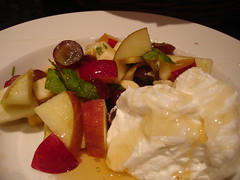 Fruit Salad with Mint and Ginger