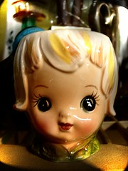 Ceramic Doll Head