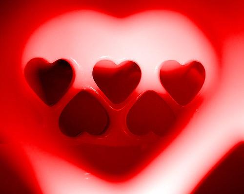 Heart with hearts, Bob Fornal, CC-BY- NC-SA