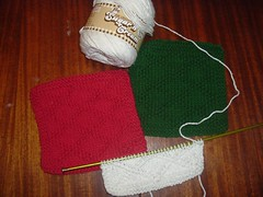 Holiday dish cloths