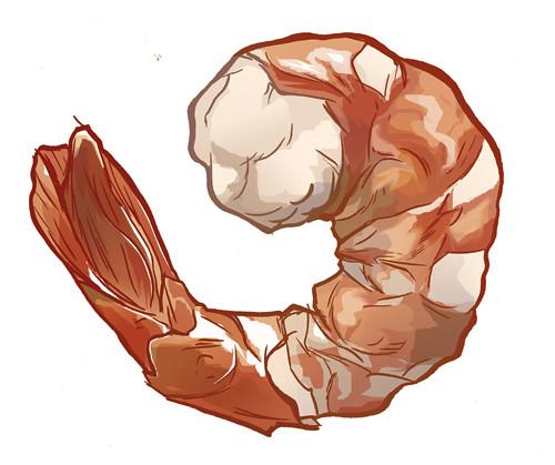Who you callin a shrimp!?