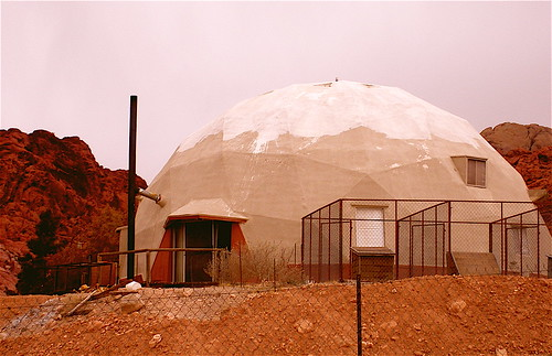 Strange House in Calico Basin