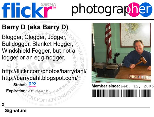 Flick photographer badge
