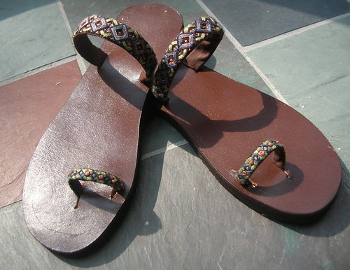 Boho Sandals (by Brian Sawyer)