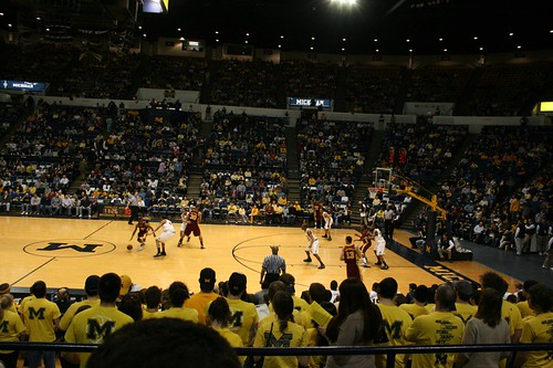 Gophers at Crisler Arena by B Cohen