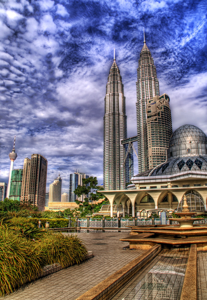 The Mosque and the Towers