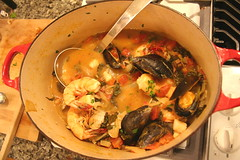 Shellfish Stew - almost gone