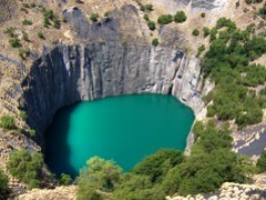Open-Pit Diamond Mine, Kimberley