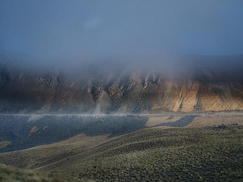 Atardecer en el cráter del Xinantécatl