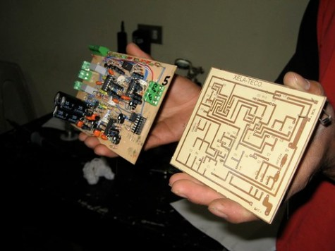 Xela Teco: Electronic circuits