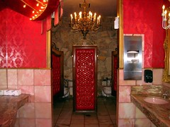 Madonna Inn Bathroom