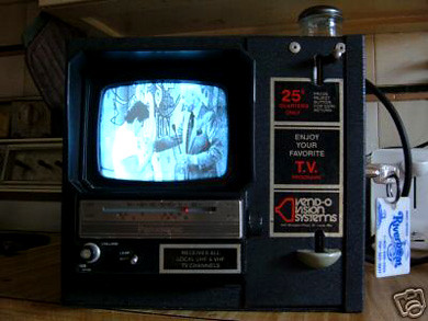 ebay watch coin operated tv from the 60 s