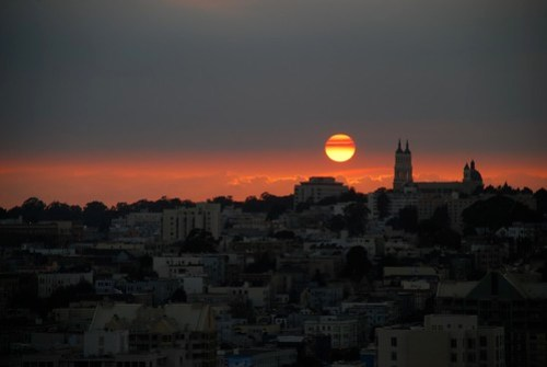 Another San Francisco Sunset