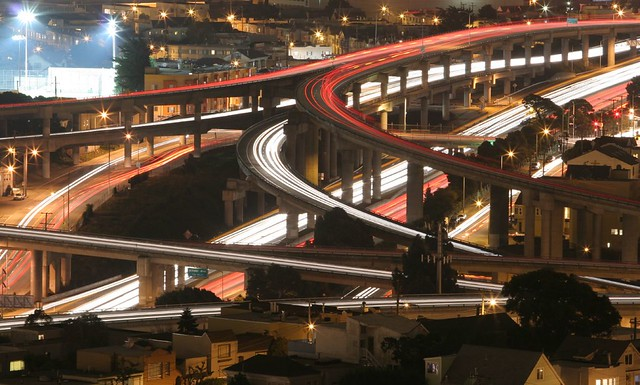 The Meeting of 2 Freeways
