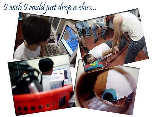 8drop a class