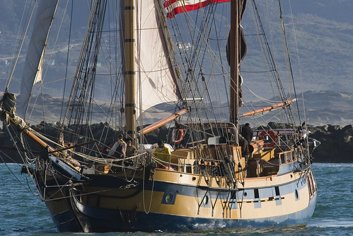 My Old Home, the Sailing Vessel Hawaiian Chieftain