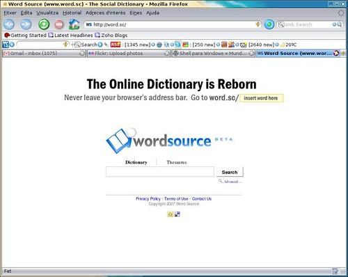 Wordsource