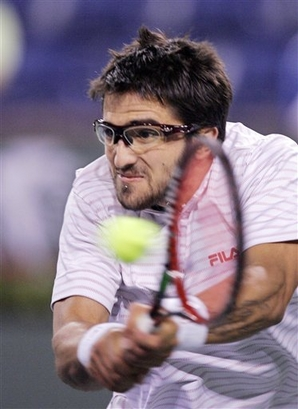 Janko Tipsarevic at Indian Wells