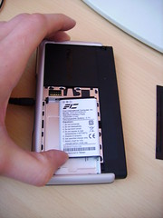 Testing Neo1973 battery in Nokia770