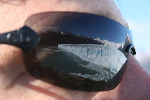 El Glaciar segun mis gafas de sol