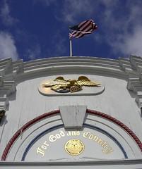 World War II Monument & Flag