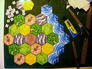 Settlers of Catan - Hex Design