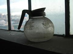 Abandoned coffee pot