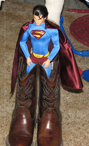 Superman Boots