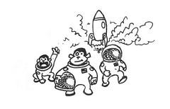Space Monkeys #2