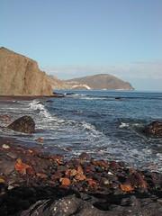 Punta de la Polacra desde la Cala de Los Toros