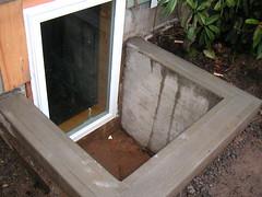 Concrete Egress Window Well