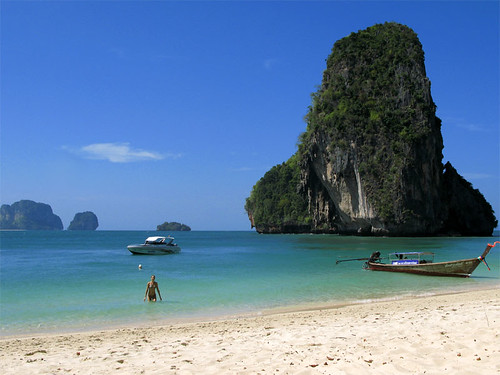Railay Bay / Thailand, Krabi by flydime