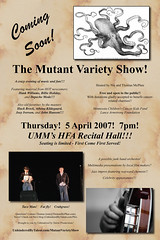 Mutant Variety Show poster