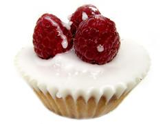 Raspberry Fairy Cake