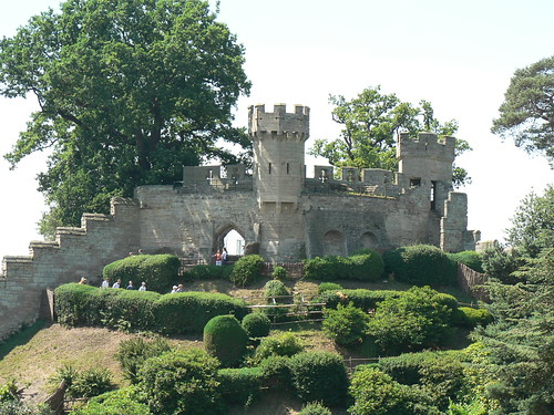 oldest part of Warwick Castle