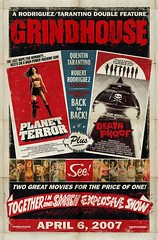 Grindhouse Movie Poster-The Movie Poster for Grindhouse Planet Terror & Death Proof