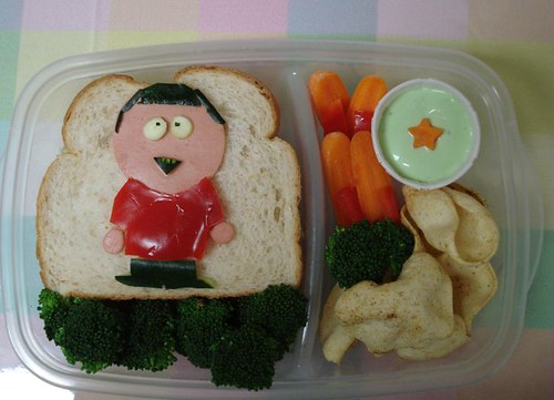 South Park Bento by Sakurako Kitsa on Flickr