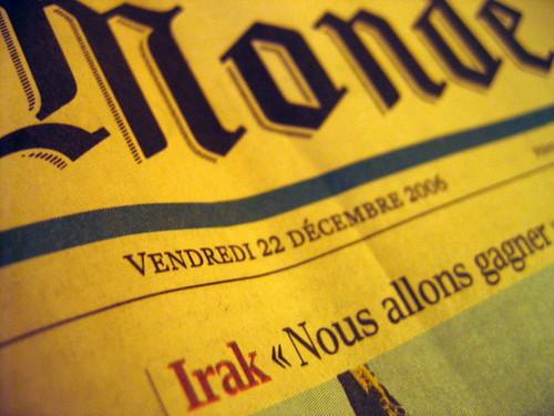 Le Monde 22/12/06