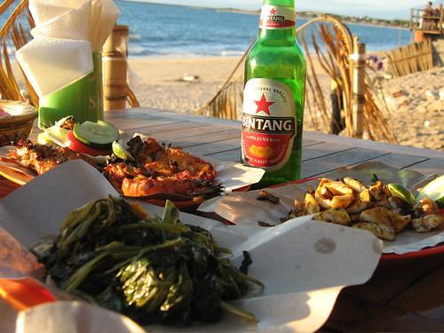 Last meal in Bali