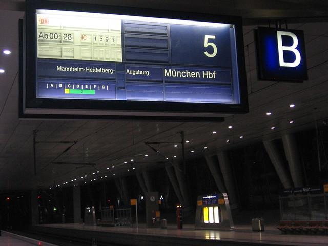 Platform 5, Frankfurt Airport Station