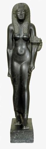 Cleopatra VII statue