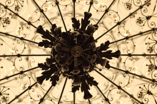 Church chandelier