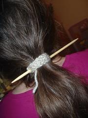 HairStickKnit