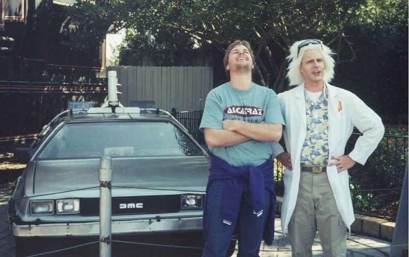 Me and Doc Brown
