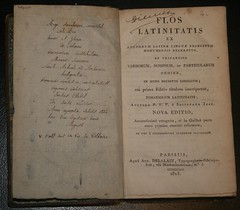 Latin scholar book