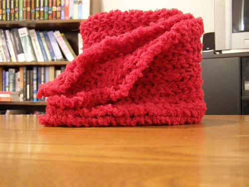 Red Scarf, finished