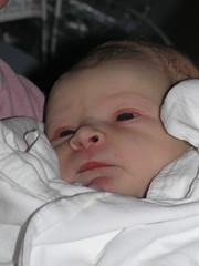 Ezekiel at 22 minutes of age