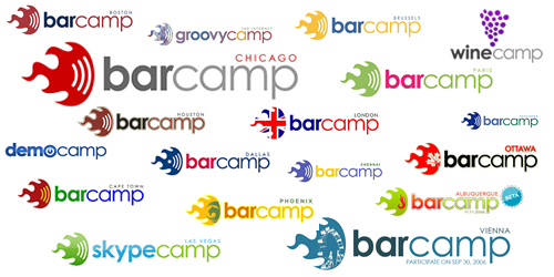 Barcamp logos from around the world