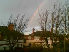 Rainbow over Whalley Range