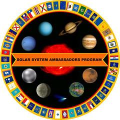 JPL Solar System Ambassador logo